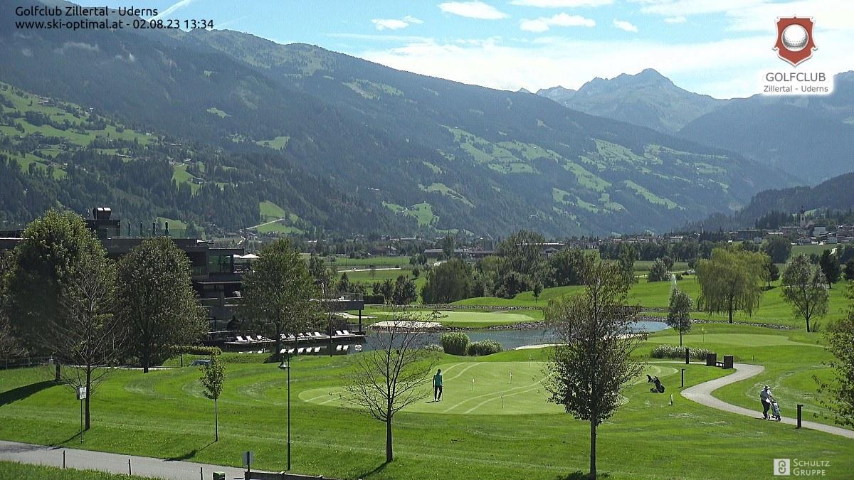 Golfclub zillertal Live Webcam